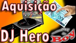 Aquisição DJ Hero (Jogo + Pickup) - Compra - GameplaydoBoy