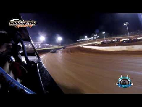 #319 Scott Brown - Street Stock - 5-19-17 Crossville Speedway - In-Car Camera