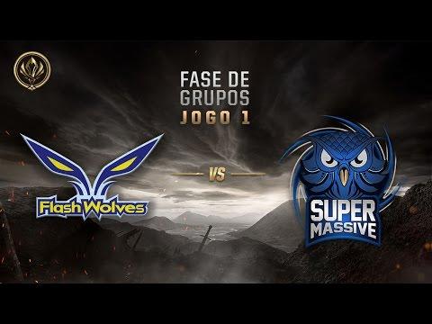 Flash Wolves x SuperMassive (Fase de Entrada - Jogo 1 - Dia 6) - MSI 2017