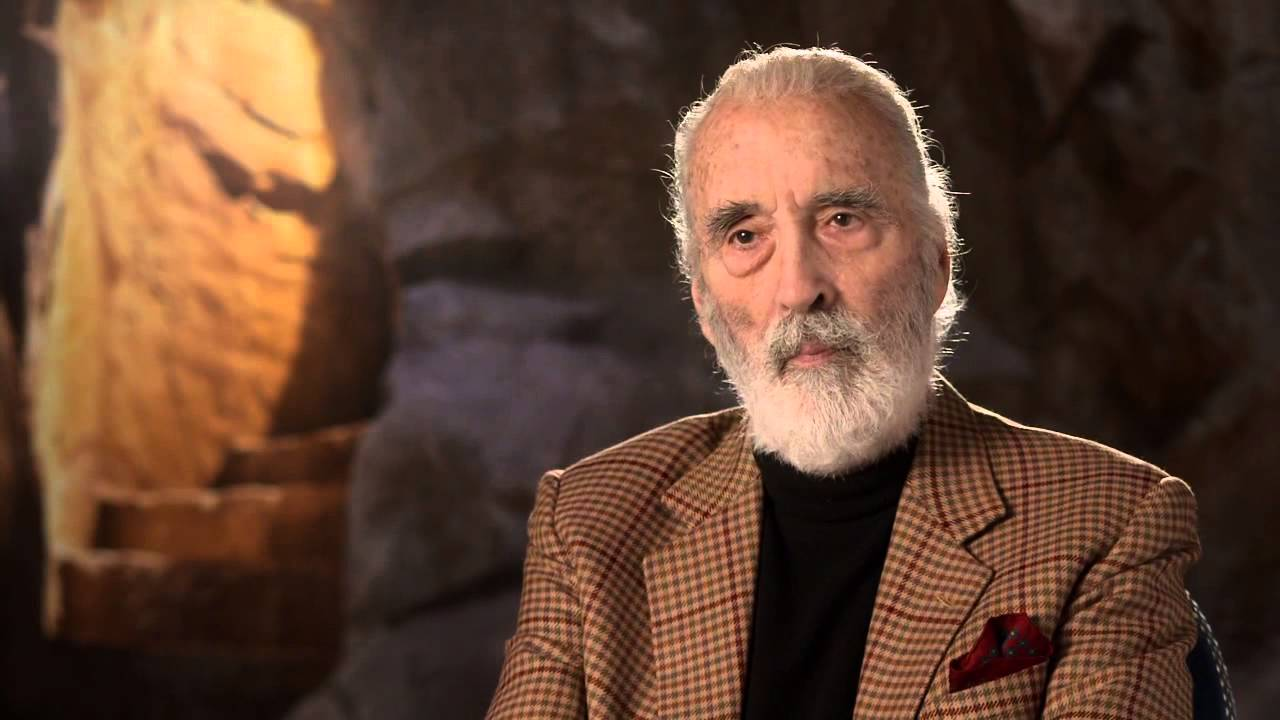 the hobbit an unexpected journey christopher lee is saruman 2012 movie behind the scenes youtube - Christopher Lee Metal Christmas