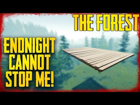 HOW TO BUILD A FLOATING SKY PLATFORM | The Forest