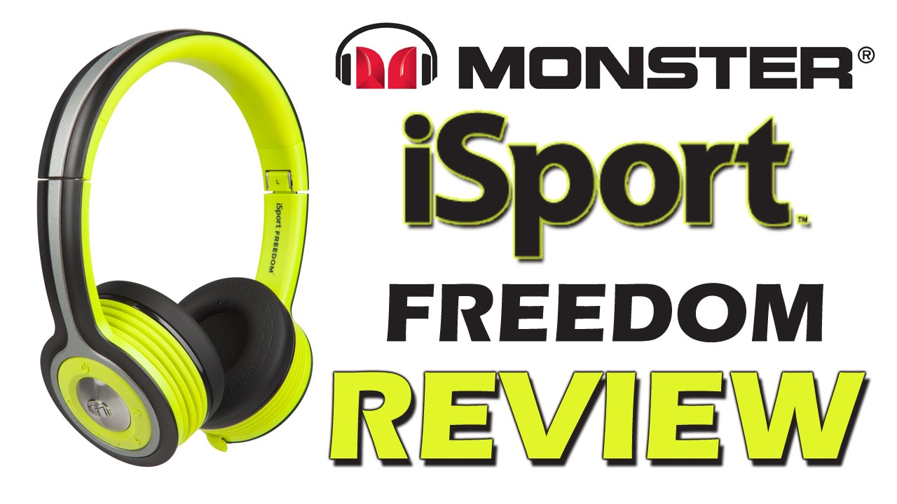 Monster isport freedom bluetooth headphones review youtube for Monster advanced search