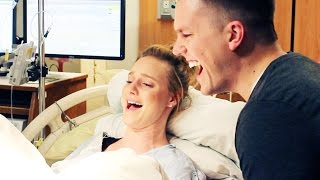 One of Ellie and Jared's most viewed videos: EMOTIONAL LIVE BIRTH!! (Birth Vlog)
