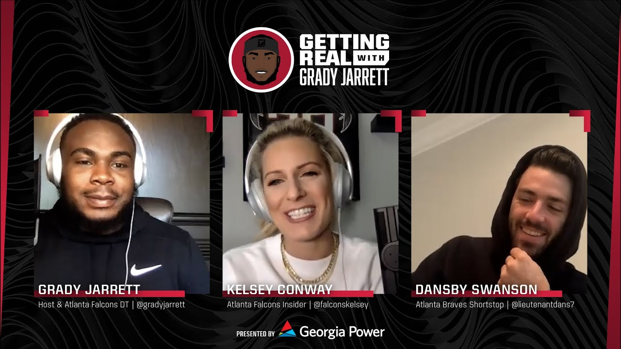 Getting Real with Grady Jarrett Podcast | Dansby Swanson - Atlanta Braves Shortstop joins the mix