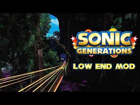 how to make sonic generations run faster pc