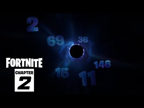 Fortnite's Black Hole Numbers SECRET REVEALED..