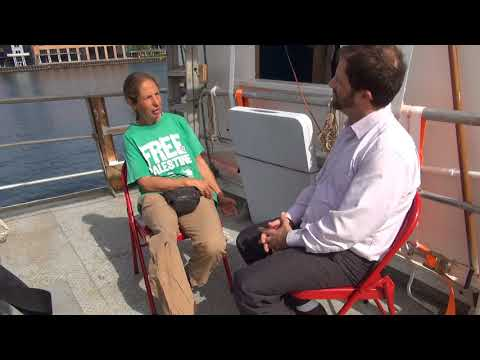 Freedom Flotilla to Gaza interview with Zohar Chamberlain Regev (uncut)
