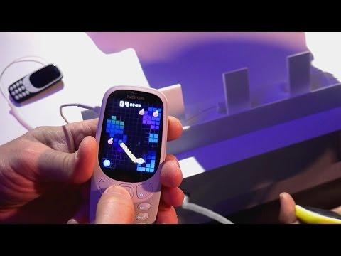 Nokia 3310 ja muut MWC:n kännykkäuutuudet  (Teknavi 2017)