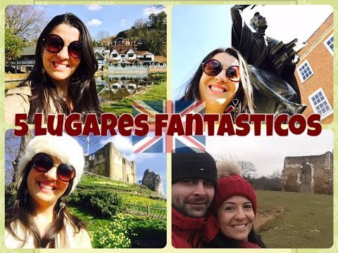 Vlog Guildford- Cidade onde moro (a uns 40 km de Londres)