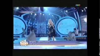 Angela en Tu cara me suena - Demi Lovato