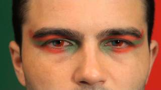 Portugal Flag Coloured Contact Lenses
