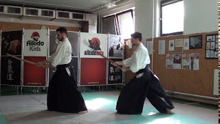 ken no awase 7 [TUTORIAL] Aikido advanced weapon technique: