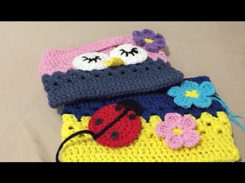 Crochet Owl Or Ladybird Bag Part 2 Youtube