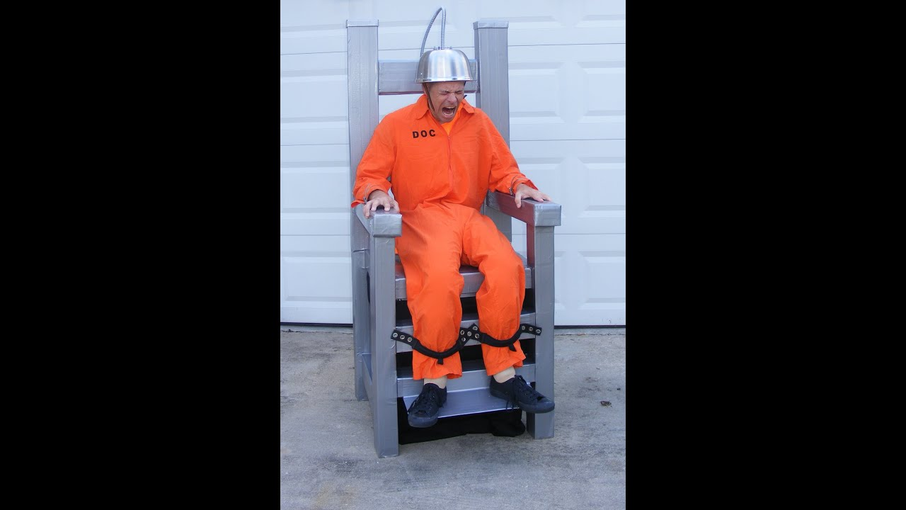 & My Electric Chair Costume - YouTube