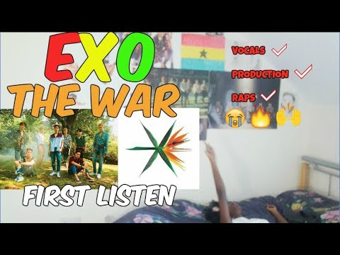 EXO (엑소) - THE WAR FIRST LISTEN [I AM...