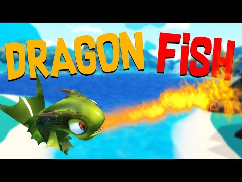 The Epic Fire Breathing Dragon Fish and Basketball Dunk! - Crazy Fishing HTC Vive VR