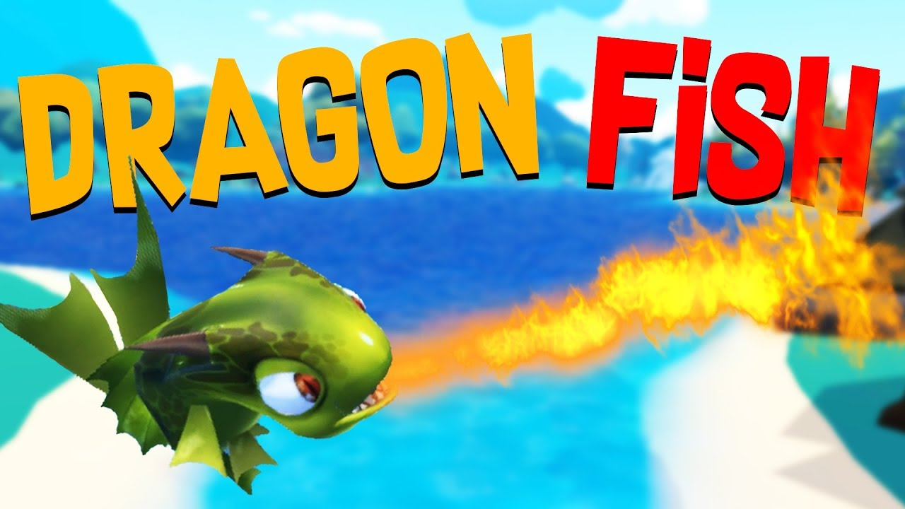 The epic fire breathing dragon fish and basketball dunk for Crazy fishing videos