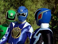 Power Rangers S.P.D. and Dino Thunder Team Up Morph and Fight Wormhole Episode