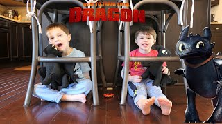 How to Train Your Dragon 3: The Hidden World Hide and Seek with Toothless Chase and Cole Adventures