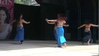 Paula Campos belly dance Costa Rica...Danza del Vientre, clasico bastón