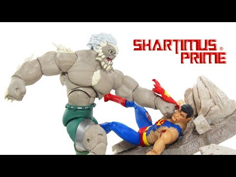 DC Icons Superman vs Doomsday 2 Pack Death of Superman DC Collecitbles Comic Figure Toy Review