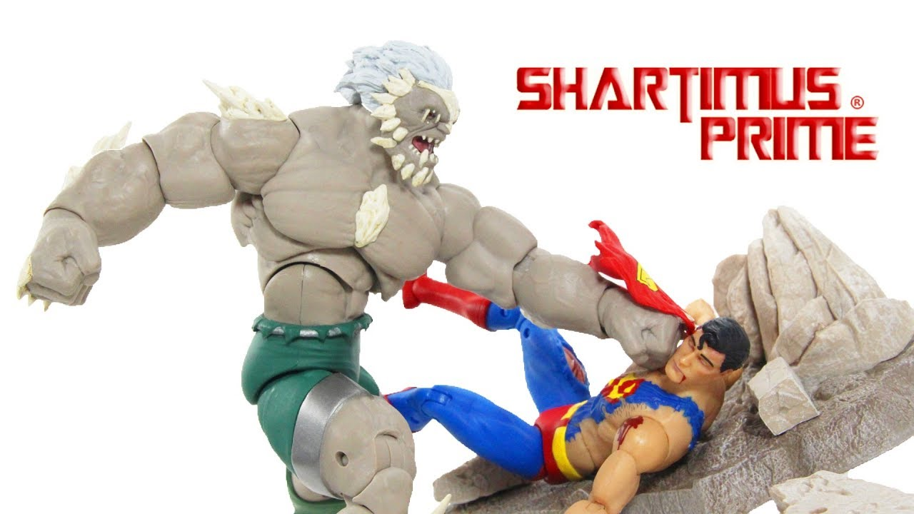 Dc Icons Superman Vs Doomsday 2 Pack Death Of Superman Dc