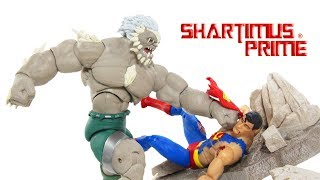 DC Icons Superman vs Doomsday 2 Pack Death of Superman DC Collecitbles Comic Figure Toy Review streaming