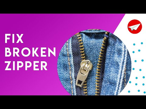 Jeans Zip Repair: How to fix jeans zipper (5 Hacks)