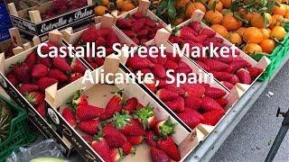 Castalla, Alicante Street Market