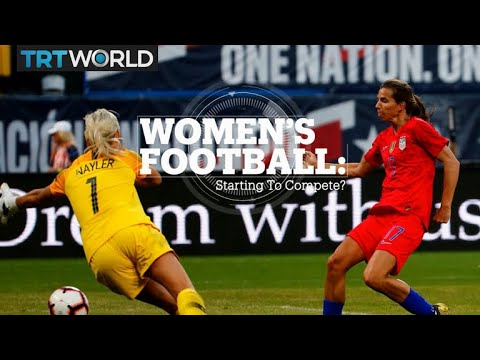 WOMEN'S FOOTBALL: Starting To Compete?