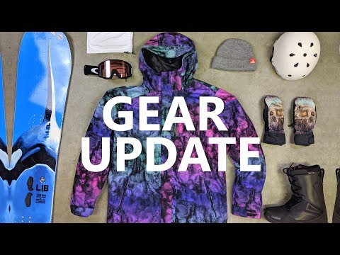 My Snowboard Gear List Update 2019