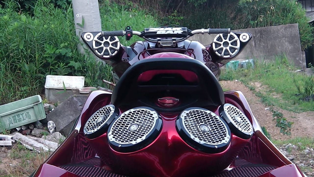 Waverunner Jetski with mp3 Stereo PWC with Stereo - YouTube  Jet Ski Stereo Systems
