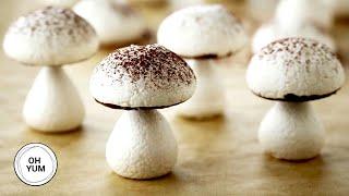 meringue mushrooms anna olson