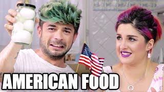 MANGIANDO CIBO STRANO AMERICAN FOOD - Luca & Katy
