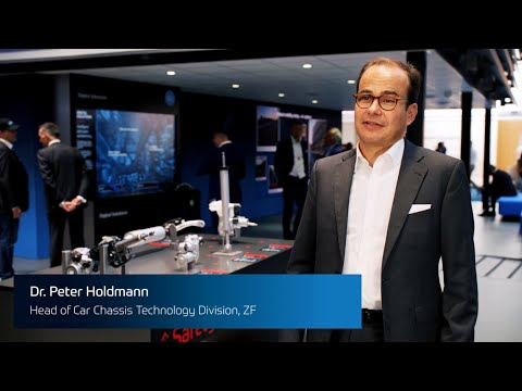 Dr Peter Holdmann About ZF's Chassis Technology
