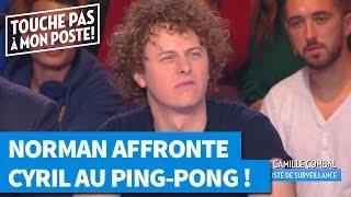 Norman affronte Cyril Hanouna au Ping Pong