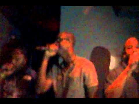 Nine-Seven music group feat Nollo Dice performing at the movement tour July 29th 2011