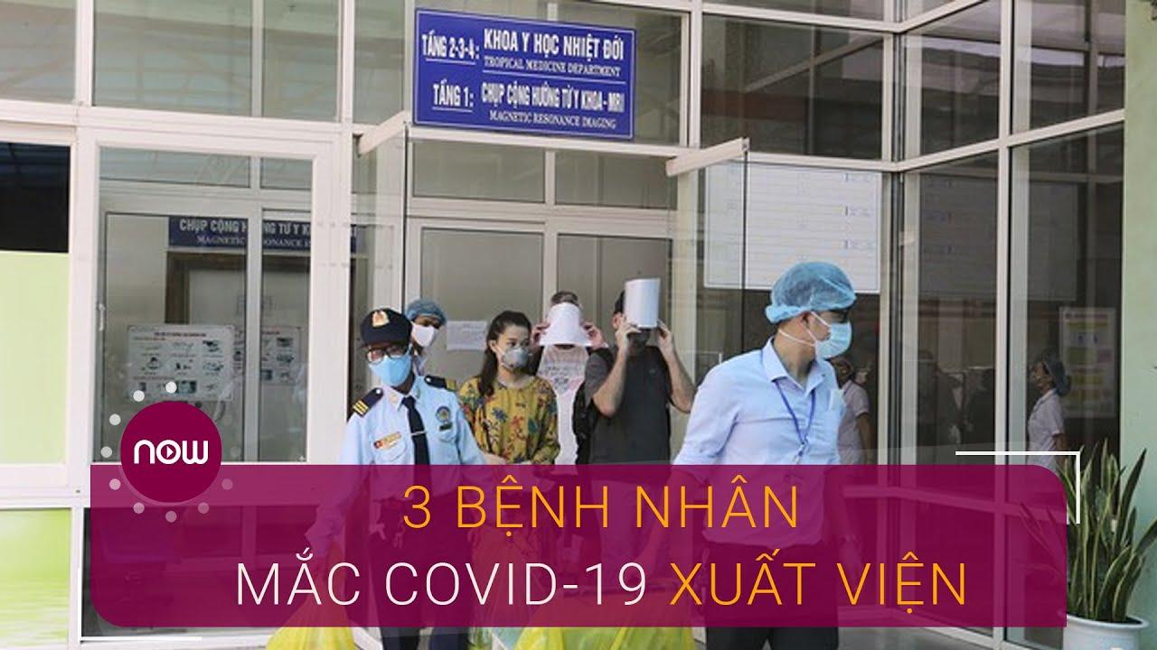 Đà Nẵng: Hình ảnh 3 bệnh nhân mắc Covid-19 xuất viện | VTC Now