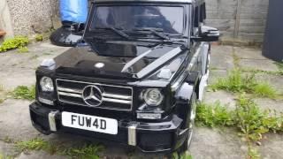 G63. Детский электромобиль-джип Mercedes G63 AMG Гелендваген