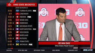 Ohio State Head Coach Ryan Day Ready for First Year at the Helm | 2019 B1G Football Media Days