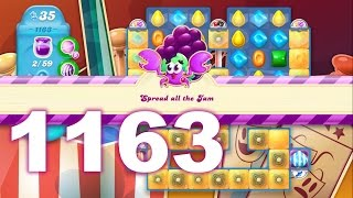 Candy Crush Soda Saga Level 1163 (No boosters)