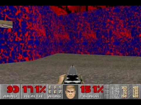 Ultimate Doom (100%) Walkthrough (E3M6: Mt. Erebus)