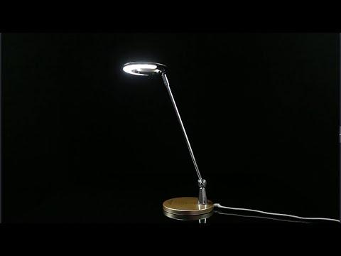 LIXADA LED Desk Table Rotational Lamp Light Adjustable Brightness + qi Standard Wireless Charger