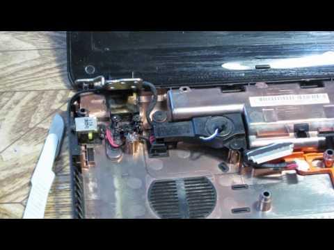 ремонт петли ноутбука Packard Bell