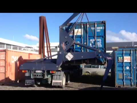Swinglift Truck Shipping Container Delivery NZ