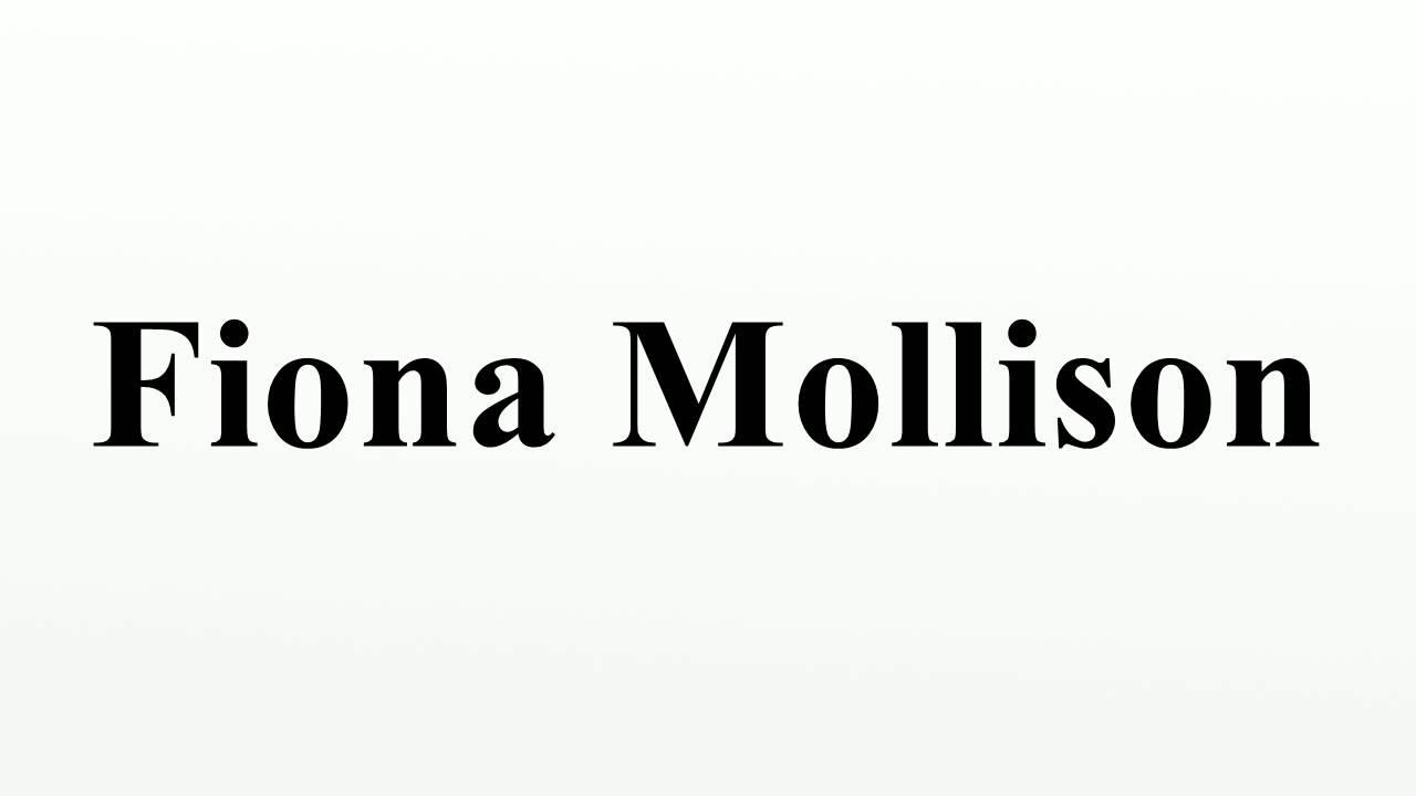Fiona Mollison (born 1954)