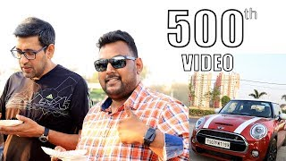 Mini Cooper Ride for an Egg Omelette | 500th Street Byte Video | Indian food