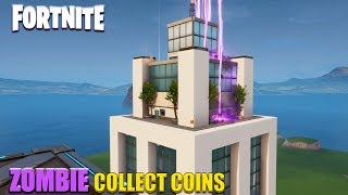 Fortnite: Zombie Collect Coins - Gratte-ciel (Speed Build)