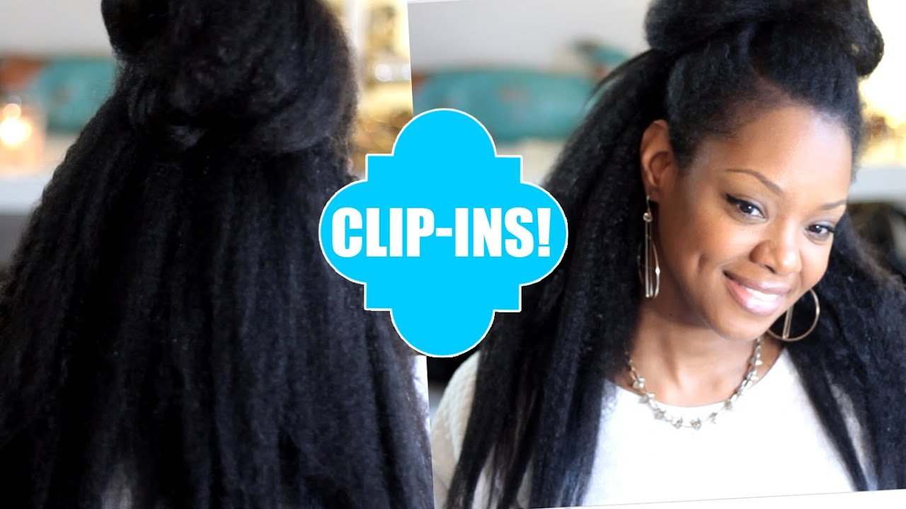 Natural Hair Blow Out Extension Clip Ins Easy Knappy Extensions