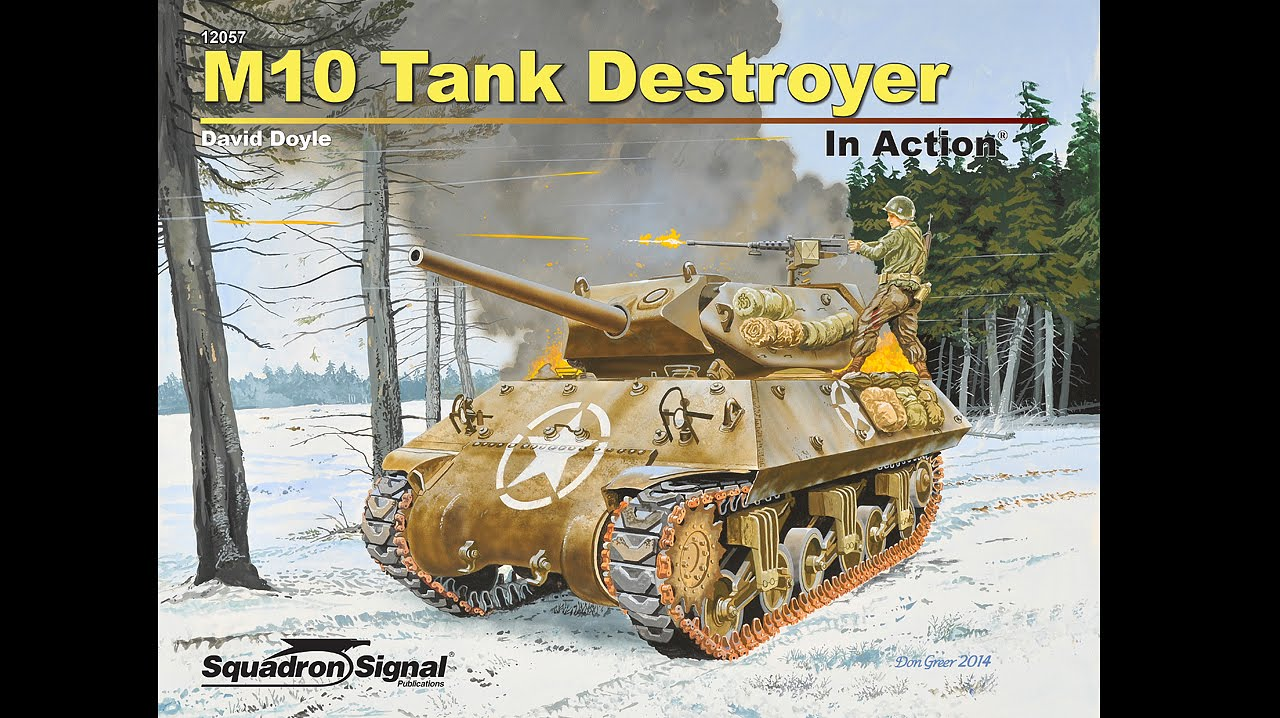 17 Inch Tv M10 Tank Destroyer In Action - Youtube